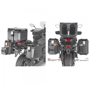 Βάσεις πλαϊνών βαλιτσών GIVI Trekker Outback One Fit Yamaha Tracer 9/GT