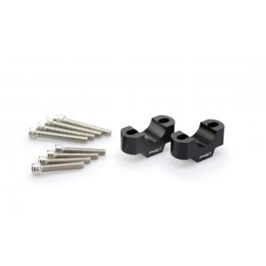 Αποστάτες Puig 20mm για τιμόνια Ø28mm μαύροι