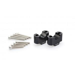 Αποστάτες Puig 30mm για τιμόνια Ø28mm μαύροι
