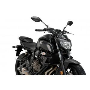 Φτεράκια κάθετης δύναμης Puig Yamaha MT-07 18- μαύρα