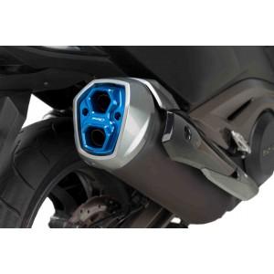Τάπα εξάτμισης Puig Kymco AK-550 μπλε