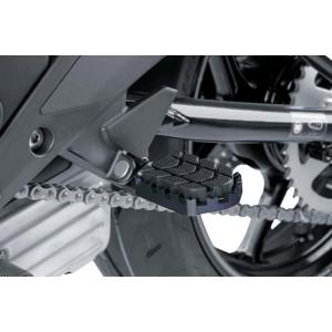 Ρυθμιζόμενα μαρσπιέ οδηγού PUIG Hi-Tech Enduro Yamaha Tenere 700 μαύρα