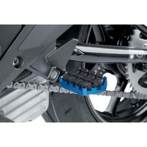 Ρυθμιζόμενα μαρσπιέ οδηγού PUIG Hi-Tech Enduro Yamaha Tenere 700 μπλε