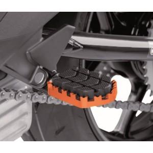 Ρυθμιζόμενα μαρσπιέ οδηγού PUIG Hi-Tech Enduro Yamaha Tenere 700 πορτοκαλί