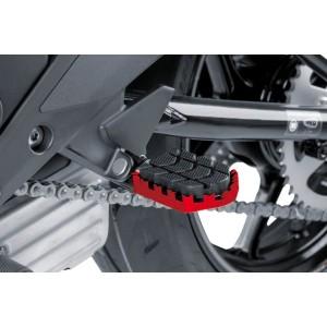 Ρυθμιζόμενα μαρσπιέ οδηγού PUIG Hi-Tech Enduro Yamaha Tenere 700 κόκκινα