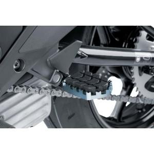 Ρυθμιζόμενα μαρσπιέ οδηγού PUIG Hi-Tech Enduro Yamaha Tenere 700 ασημί