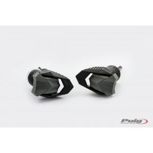 Προστατευτικά μανιτάρια Puig R19 Suzuki DL 650 V-Strom/XT μαύρα