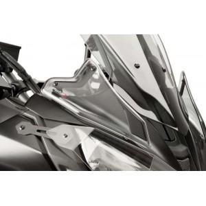 Μπροστινά βοηθήματα αέρα Puig Yamaha MT-07 Tracer/GT -19 διάφανα