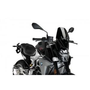 Ζελατίνα PUIG Naked New Generation Sport BMW F 900 R μαύρη (OEM BMW βάση στήριξης)