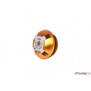 Τάπα λαδιού Puig Hi-Tech Triumph Trident 660 χρυσή
