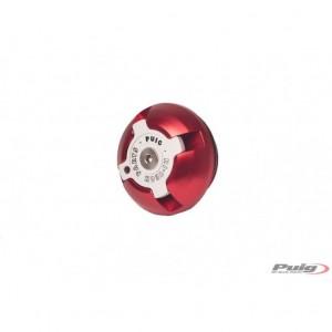 Τάπα λαδιού Puig Hi-Tech Triumph Trident 660 κόκκινη