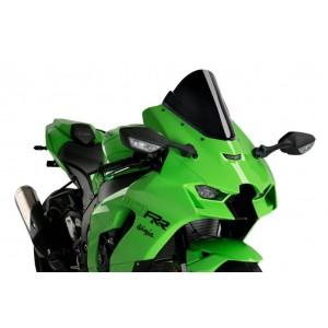 Ζελατίνα Puig Z-Racing Kawasaki ZX-10R/RR 20- μαύρη