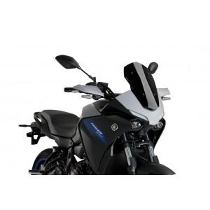 Ζελατίνα Puig Sport Yamaha MT-07 Tracer 20- μαύρη