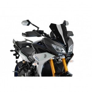 Ζελατίνα Puig Sport Yamaha Tracer 9/GT μαύρη