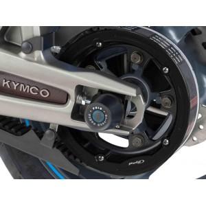 Καπάκι τροχαλίας ιμάντα Puig Kymco AK-550 μαύρο