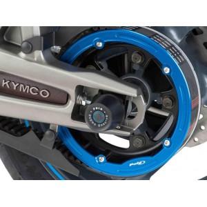 Καπάκι τροχαλίας ιμάντα Puig Kymco AK-550 μπλε
