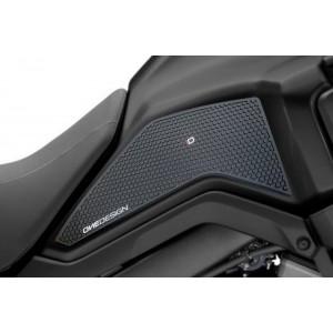 Πλαϊνά προστατευτικά ντεποζίτου έλξης PUIG HDR Honda CB 650 R Neo Sports Cafe μαύρα