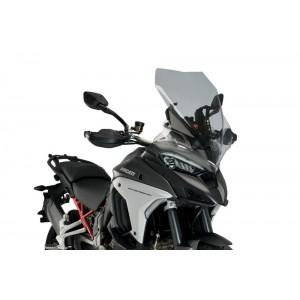 Ζελατίνα Puig Touring Ducati Multistrada V4/S/S Sport ελαφρώς φιμέ