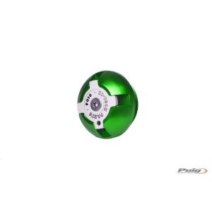 Τάπα λαδιού Puig Hi-Tech Ducati Scrambler πράσινη