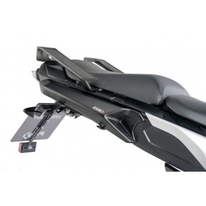 Πλαϊνά καλύμματα βάσεων βαλιτσών Puig Yamaha MT-09 Tracer -17 μαύρο ματ