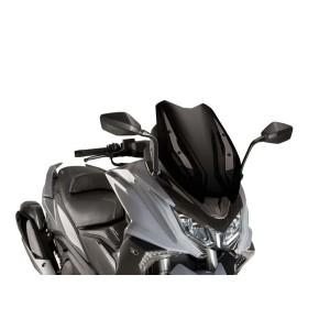 Ζελατίνα Puig V-Tech Line Sport Kymco AK-550 μαύρη