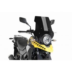 Ζελατίνα Puig Touring Suzuki DL 250 V-Strom μαύρη