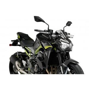 Φτεράκια κάθετης δύναμης Puig Kawasaki Z 900 20- μαύρα