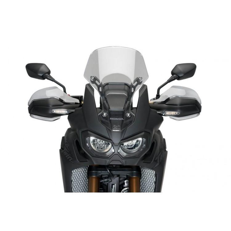 Επεκτάσεις εργοστασιακών χουφτών Puig Honda CRF 1000L Africa Twin μαύρες