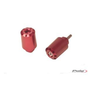 Αντίβαρα τιμονιού μακρυά Puig Kawasaki Versys 650 κόκκινα