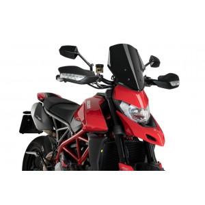 Ζελατίνα Puig Naked New Generation Sport Ducati Hypermotard 950/SP μαύρη