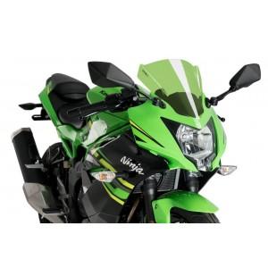 Ζελατίνα Puig Racing Kawasaki Ninja 125 πράσινη