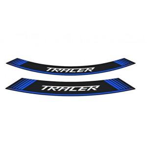 Ταινία τροχών με λογότυπο Puig Yamaha MT-09 Tracer μπλε