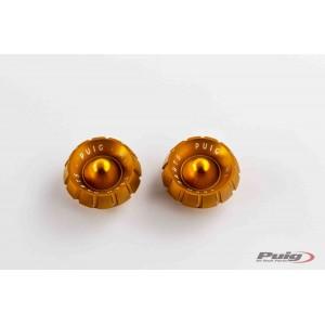 Καπάκια αντίβαρων Puig σειράς Thruster χρυσά