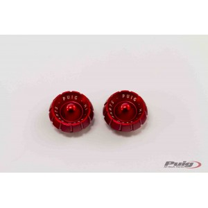 Καπάκια αντίβαρων Puig σειράς Thruster κόκκινα