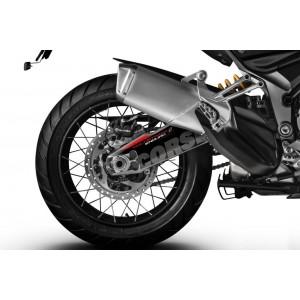 Αυτοκόλλητο ψαλιδιού Puig Ducati Multistrada 1260 Enduro μαύρο