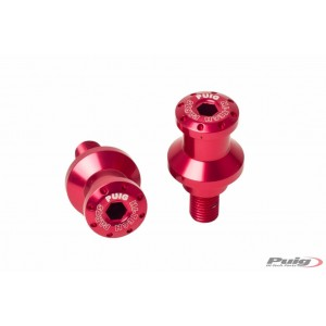 Αναμονές βάσεων πίσω σταντ (bobbins) Puig Suzuki GSF 600 Bandit/S κόκκινες