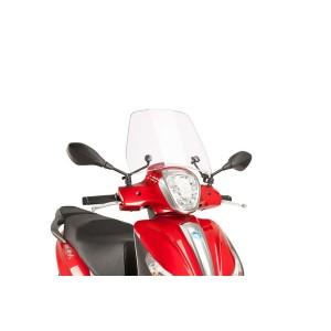 Ζελατίνα Puig Trafic Piaggio Medley 125-150 διάφανη