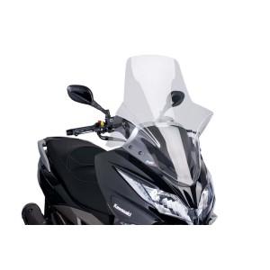 Ζελατίνα Puig V-Tech Touring Kawasaki J 300 διάφανη