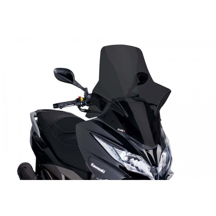 Ζελατίνα Puig V-Tech Touring Kawasaki J 300 σκούρο φιμέ