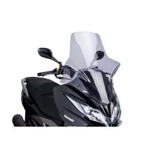 Ζελατίνα Puig V-Tech Touring Kawasaki J 300 ελαφρώς φιμέ