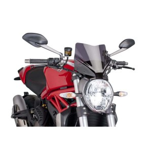Ζελατίνα Puig Naked New Generation Sport Ducati Monster 797 σκούρο φιμέ