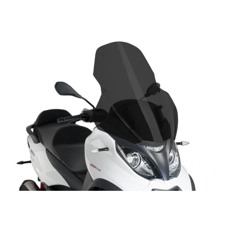 Ζελατίνα Puig V-Tech Touring Piaggio MP3 350 18- σκούρο φιμέ