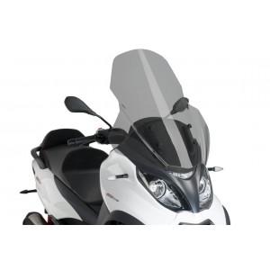 Ζελατίνα Puig V-Tech Touring Piaggio MP3 350 18- ελαφρώς φιμέ