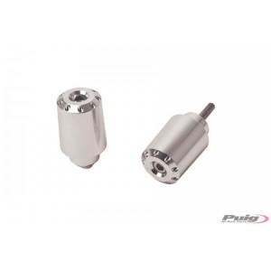 Αντίβαρα τιμονιού μακρυά Puig Honda SH 125-150 20- ασημί