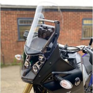 Πλαϊνά βοηθήματα αέρα Ryramid Yamaha Tenere 700 μαύρα ματ
