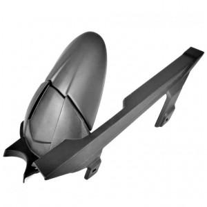 Επέκταση πίσω φτερού Pyramid Plastics Kawasaki Z 300 μαύρη