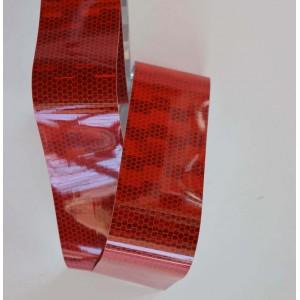 Ανακλαστικό αυτοκόλλητο QTR Roll Diamond κόκκινο 100 x 5 εκ.