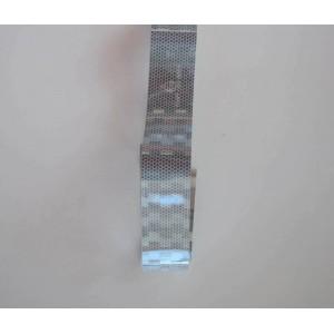 Ανακλαστικό αυτοκόλλητο QTR Roll Diamond ασημί 100 x 5 εκ.