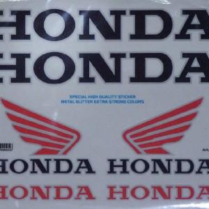 Αυτοκόλλητα Honda Standard 20 x 24 εκ.