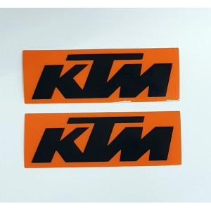 Αυτοκόλλητα QTR KTM 3D 11 x 3,7 εκ. (2 τεμ.)